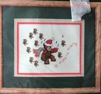 Pipers Piping Dale Burdett Christmas Cross Stitch Kit CCK272 Teddy Bears