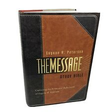 The Message Study Bible Capturing the Notes and Reflections of Eugene H Peterson