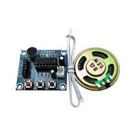 Voice Recording Playback Module Sound Recorder Board + Loudspeaker ISD1820 DE
