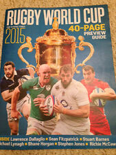 SUNDAY TIMES Magazine Rugby World Cup 2015 40-PAGE PREVIEW GUIDE