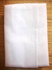 Indian White Cotton Lungi Sarong Dhoti Mundu without Border