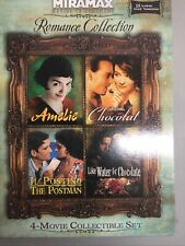 Miramax Inspired Romance Collection Amelie, Like Water, Postino, Chocolat-Movies