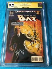 Batman: Shadow of the Bat #28 - DC - CGC SS 9.2 - Signed by Stelfreeze Blevins