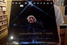 Van Morrison It's Too Late to Stop Now Volume 1 2xLP sealed vinyl RE reissue