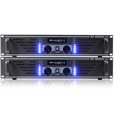 2x Ekho RX600 Power Amplifiers 1200W Essex
