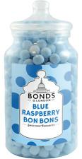 BONDS - BLUE RASPBERRY BON BONS - 2.1KG JAR, TRADITIONAL BOILED SWEETS