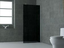 120 x 200 Rauch Glas Duschwand Duschkabine Duschabtrennung Dusche Duschtrennwand