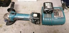 Makita 14.4v Battery Grinder With Charger and 2 x battery