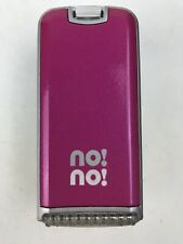 No! No! Hair Remover Removal Device Pink Unit Only No Accessories NEW