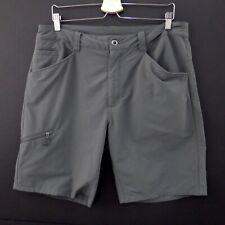 PATAGONIA Men's SHORTS Size 36 Gray Flat Front