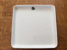 "Wedgwood Singapore Airlines metallised bone china 6 3/4"" square plate"