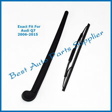 For Audi Q7 2006-2010 2011 2012 2013 2014 2015 Rear Wiper Arm With Blade Set