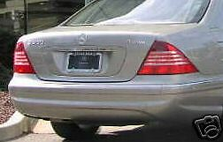 Mercedes-Benz Genuine S Class W220 1999-2006 Tail Lights Pair 2002+ Version New