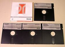 4 Discrete Semiconductors Data Disks by Philips for IBM PC/XT/AT from 1990