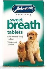 Johnsons Sweet ALIENTO TABLETAS PARA PERROS Y GATOS 30 Pack Fresco