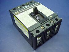 Square D Molded Case Thermal-Magnetic Circuit Breaker 3-Pole 480V 45A FAL34045