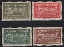 Haiti 1944 United Nations Relief set Sc# RA1-8 NH