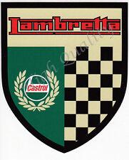 Castrol Lambretta sticker.    X006