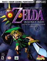 Legend of Zelda : Majora's Mask Official Strategy Guide (2000, PB) VGC