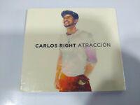 Carlos Right Atraccion 2019 Universal Digipack - CD Nuevo - 2T