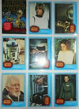 1977 STAR WARS (1ST SER) COMPLETE (66/11) CARD & STICKER SET TOPPS *NMMT-MINT*