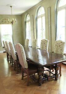 Mike Bell Gascogne Armchair Set Maple Antique French Renaissance Style