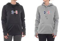 Under Armour Women's Big Flag Logo Hoodie American Flag Sweatshirt XS-XL