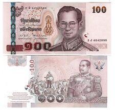 THAILAND 100 BAHT 2005 (2011) UNC SIGN 82 P 114