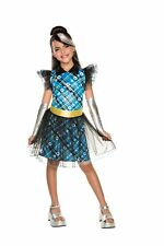 Frankie Stein Child Girls Costume NEW Monster High