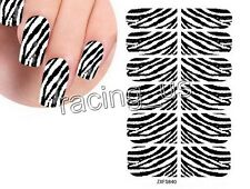 Brand New US SHIP 1PCS Red Base Leopard Print Design For Nail Art Foil Stickers