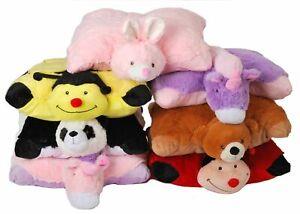 Soft Cushion Pet Pillows Cuddle Buddy Animal Pillow  Ladybird ,PANDA RABBIT BEAR