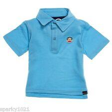 Paul Frank Classic Polo Shirt  Blue Baby  Boy's Size 24M NWT