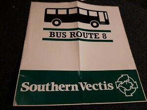Southern Vectis Bus Stop Vinyl