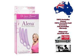 Dr Laura Berman Alena Set Of 3 Silicone Dilators Fast Post