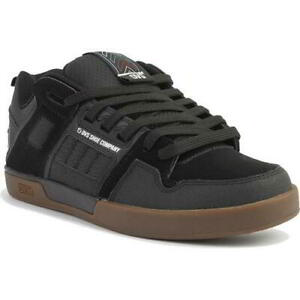 DVS Comanche 2.0 Mens Chunky Black Gum Skate Shoes Trainers Size UK 8-13