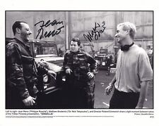 JEAN RENO & MATTHEW BRODERICK signed autographed GODZILLA PHILIPPE & NICO photo
