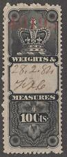 Canada Weights & Measures Revenue Van Dam #FWM2 used 10c cv $60