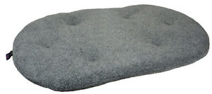 Oval Fleece  Pets & Leisure Dog Cushions, Machine Washable Pillows
