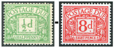 1914-1969 Postage Due Unmounted Mint Single Stamps