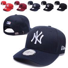 Retro New York Yankees Baseball Cap Embroidered NY Cotton Hat Adjustable Unisex