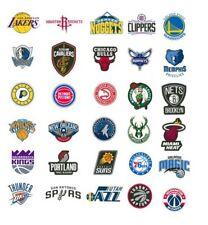 NBA Sticker / Aufkleber - Basketball - Teamlogo - Alle Teams - Bulls, Lakers etc