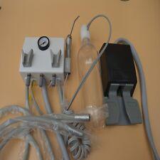 Dental Portable Turbine Unit Wall Mount with Air Compressor Triplex Syringe