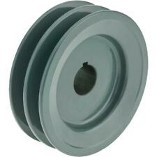 Grizzly G6271 Double V Groove Pulley 4 Pitch Dia 78 Bore