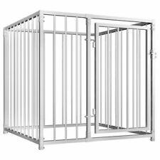 Vidaxl Chenil D'extérieur pour Chiens 1x1x1m Animaux Enclos Cage Niche Clôture