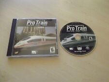 PROTRAIN RHINE VALLEY COLOGNE - FRANKFURT ~ MICROSOFT TRAIN SIMULATOR ADD-ON