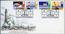 1985 SAFETY AT SEA FDC...APPLEDORE STATION