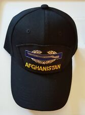 COMBAT ACTION BADGE (CIB) AFGHANISTAN VETERAN Military Ball Cap