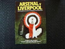 Liverpool Football FA Cup Fixture Programmes (1980s)