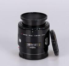 Minolta AF Macro 50mm 2.8 // Sony A SA