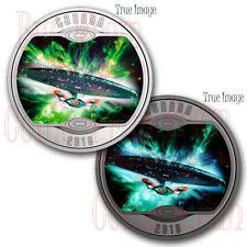 2018 Star Trek The Next Generation U.S.S. Enterprise NCC-1701-D $10 Silver Coin